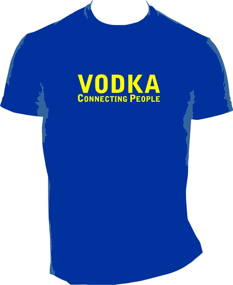 MAJICA-VODKA CONNECTING PEOPLE