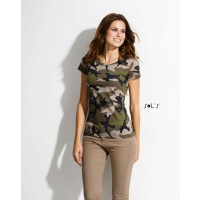 vojaška majica, kamuflažna ženska SO01187